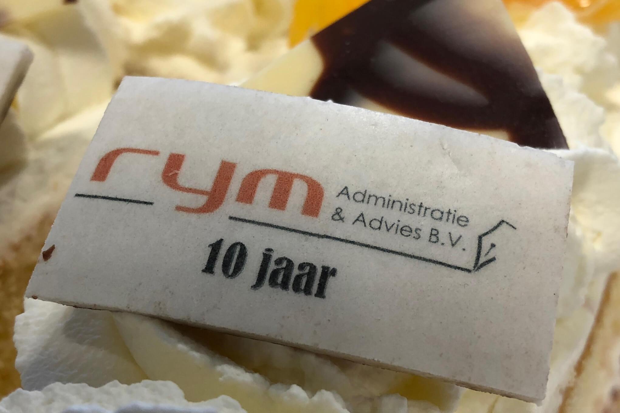RYM 10 jaar